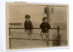 Small boys on Ramsey promenade by Thomas Horsfell Midwood