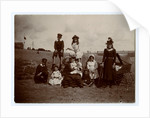 Mother and family group on Ramsey beach by Thomas Horsfell Midwood