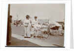 Women with prams on Ramsey promenade by Thomas Horsfell Midwood