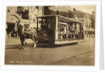 Horse Tram Outside the Palace by Anonymous