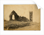 The Round Tower at Peel Castle by James Burman