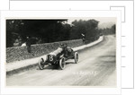 Motorcar no.8  W.O.Bentley, in a D.F.P. (Doriot, Flandrin & Parant) 1914 Tourist Trophy motorcar race by Anonymous