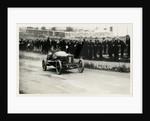 Motorcar no.1 Jean Porporato in a Minerva, 1914 Tourist Trophy motorcar race by Anonymous