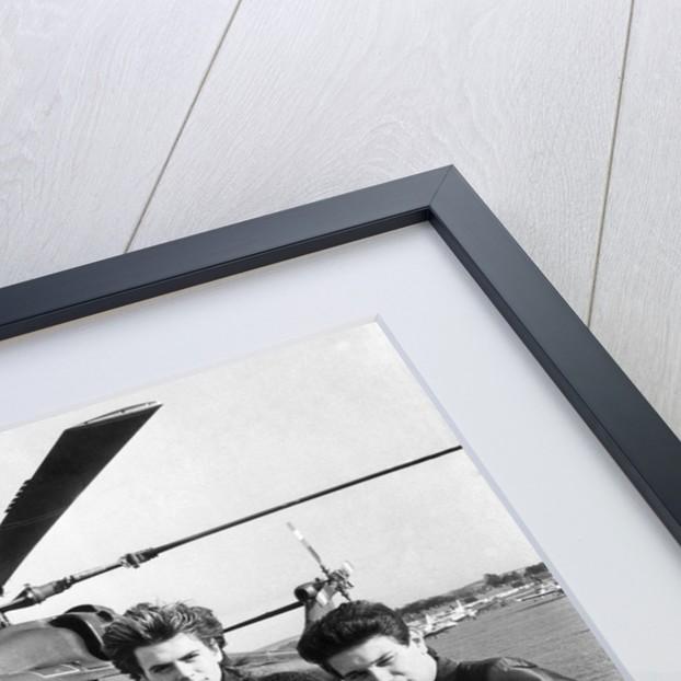 Duran-Duran leave Shoreham airport by Anonymous
