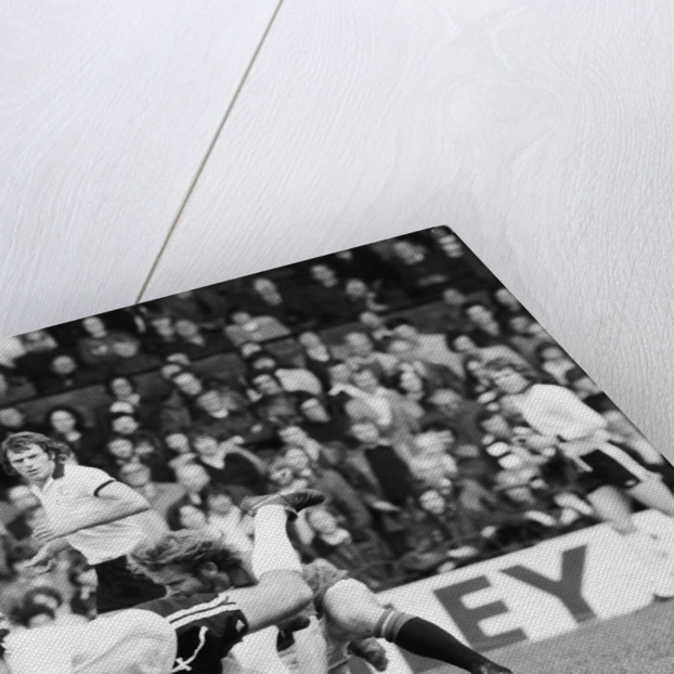 Bobby Moore's last game by Anonymous