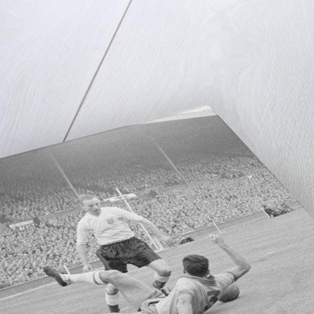 International Friendly match at Wembley Stadium 1956 by Staff