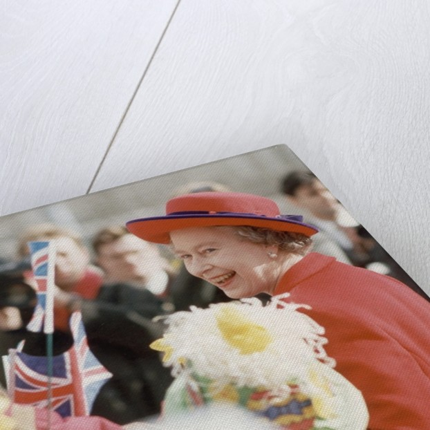 The Queen in Manchester 1991 by Manchester Evening News Archive.