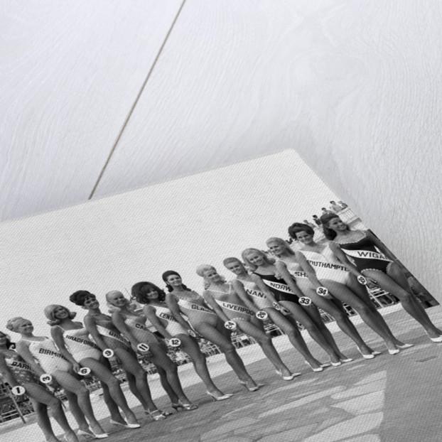 Miss UK Swimwear Competition, 1968 by Chapman