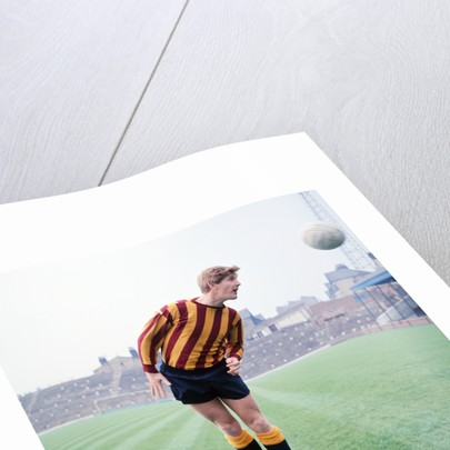 Bradford City footballer Barry Swallow July 1968. by Staff