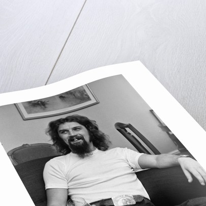 Billy Connolly Pictured in an apartment in London by Stone