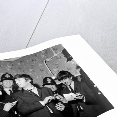 Pop Group The Beatles 1963 by Staff
