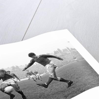 Nottingham Forest v Everton 1967 by Thomas