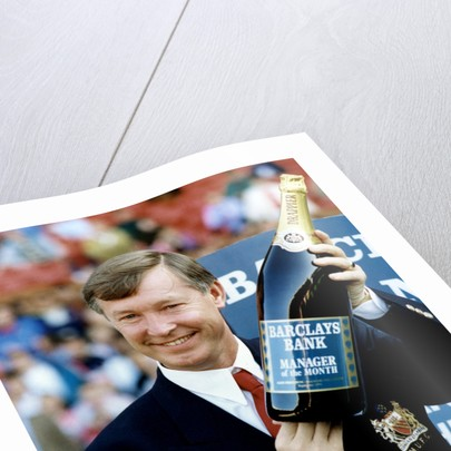 Manchester United manager Alex Ferguson by Staff