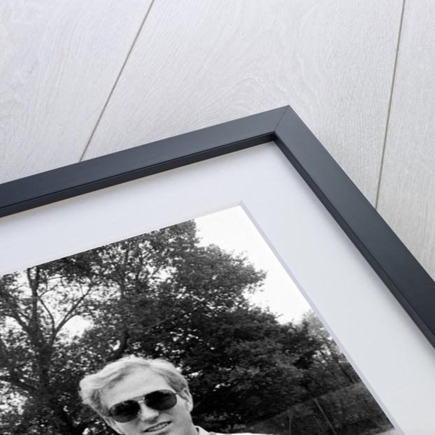 Elton John with Larry King by Ley Sidey