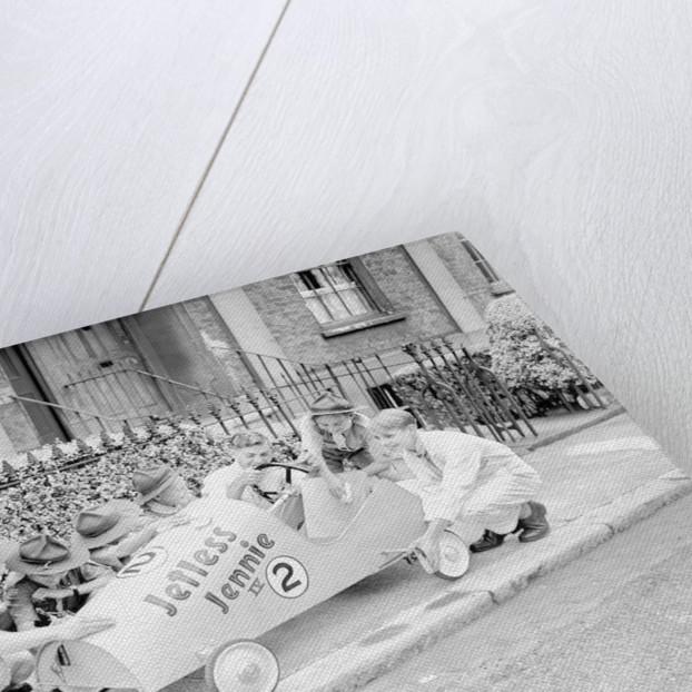 Soapbox Derby 1954 by Staff