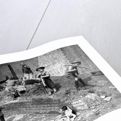 Children in the Blitz by Staff