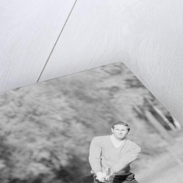 Golfer Charles Bob, 1968 by Michael Brennan