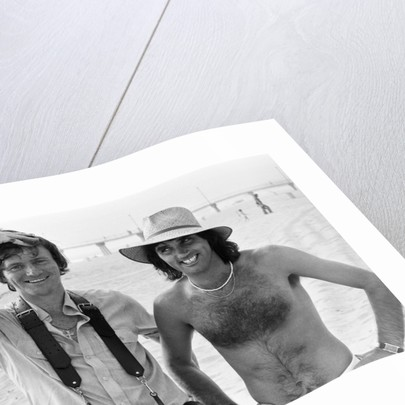 George Best and Kent Gavin by Kent Gavin