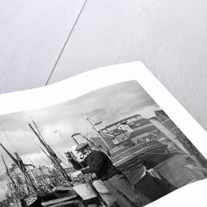 Ipswich Docks, 1946 by George Greenwell