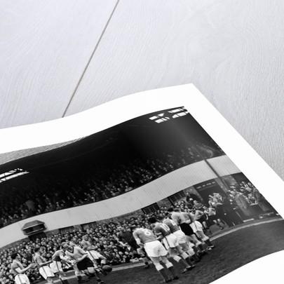 Wolverhampton Wanderers vs. Leicester 1959 by Bill Ellman