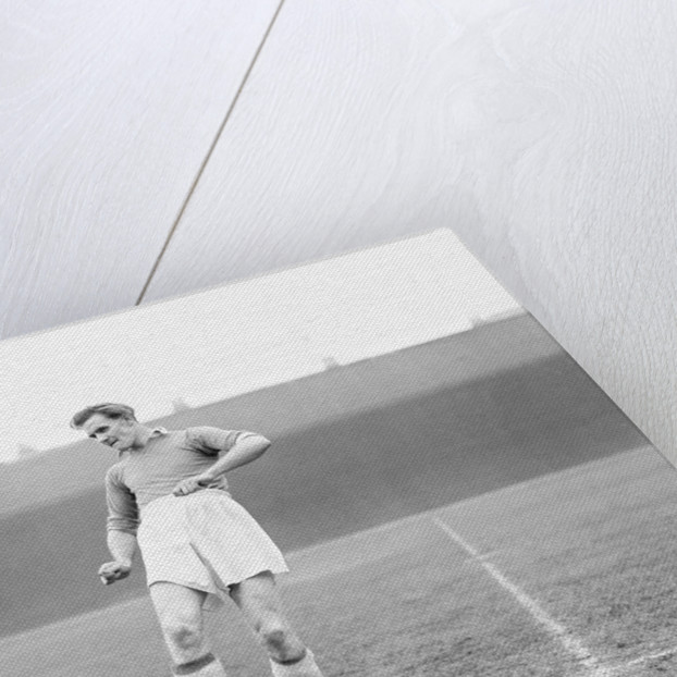 Leicester City footballer Don Revie 1949 by JONES