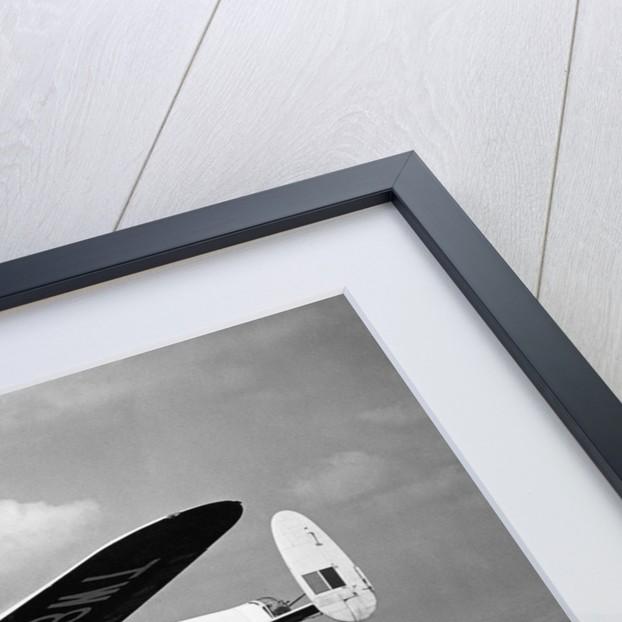 Lancaster in flight by Topix