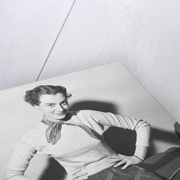 Anne Rogers, 1953 by Powell