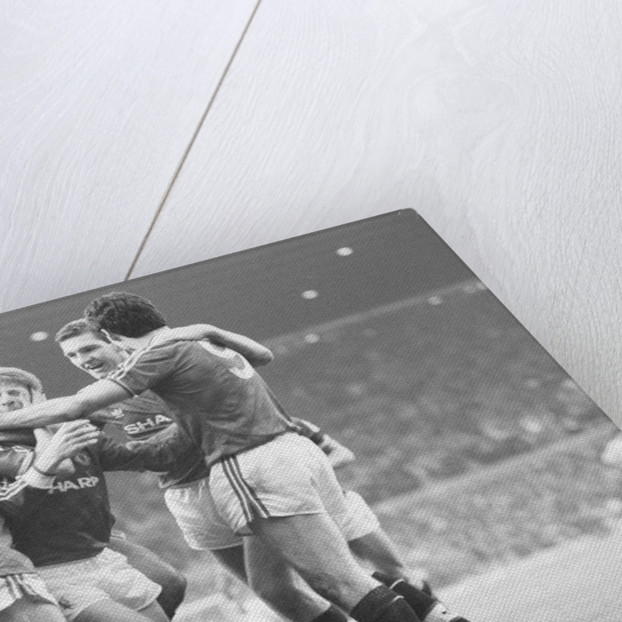 Manchester United 2-0 Arsenal January 24th 1987 by Howard Walker