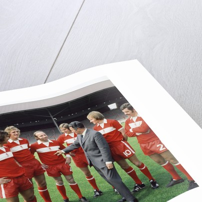 Middlesbrough FC players by Staff