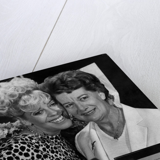 Jean Alexander and Julie Goodyear by Staff
