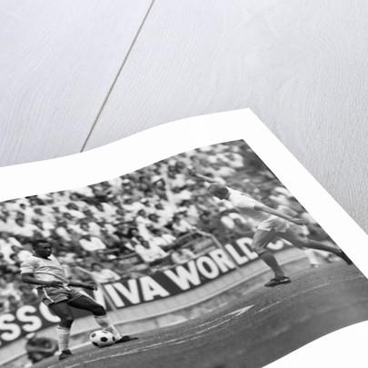 Brazil vs Czechoslovakia 1970 World Cup by Fresco Olley