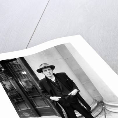 Joe Strummer, 1981 by Eric Harlow