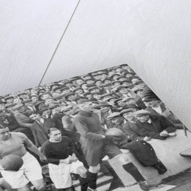 Everton footballer Dixie Dean by Anonymous