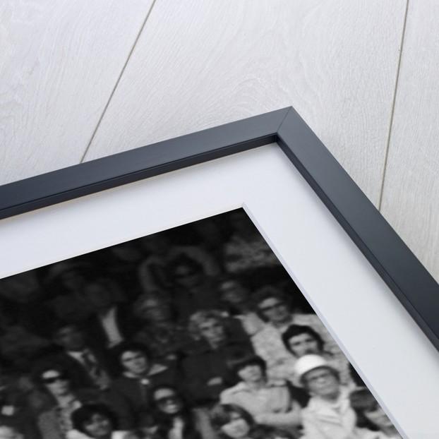 Arthur Ashe Wimbledon 1975 by Monte Fresco