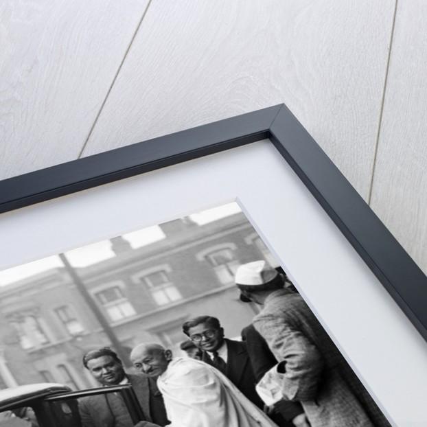 Mahatma Gandhi 1931 by Harold Tomlin