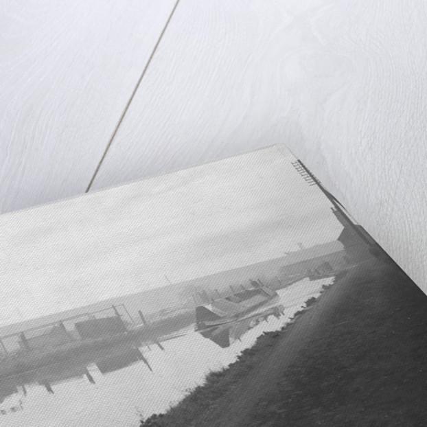 A narrow boat makes it way through the Manure lock basin at Wolverhampton by Carter