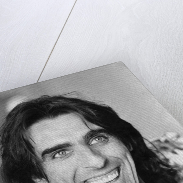 Alice Cooper talks to Pauline McLeod at the Savoy hotel by Staff