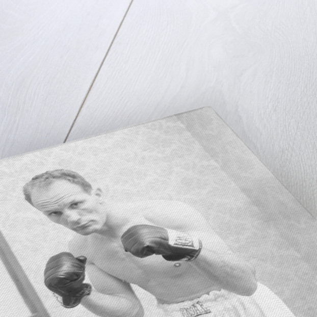 Henry Cooper in training by Monte Fresco