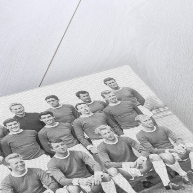 Manchester United first team squad line up by Staff