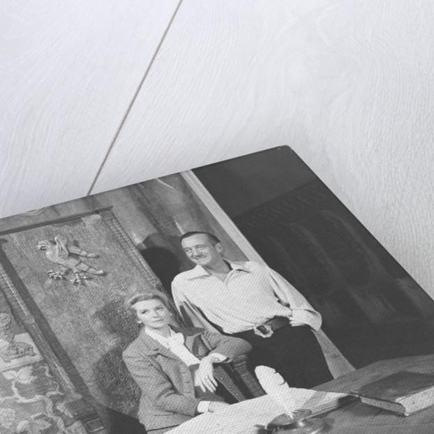 David Niven and Deborah Kerr by Victor Crawshaw