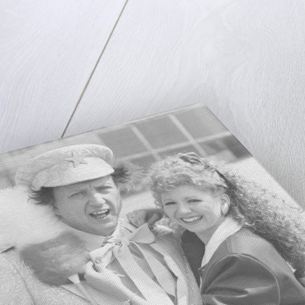 Melanie the doctors assistant played by Bonnie Langford with Ken Dodd by Hartley