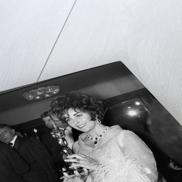Richard Burton and Elizabeth Taylor by Staff