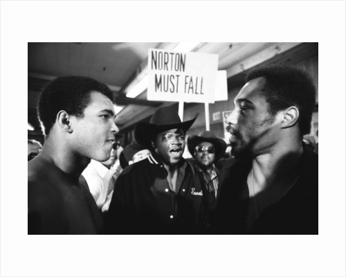 Muhammad Ali faces Ken Norton by Monte Fresco