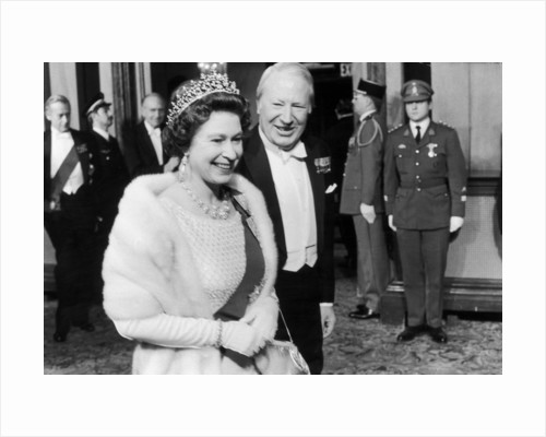 Queen Elizabeth II with Edward Heath by Staff