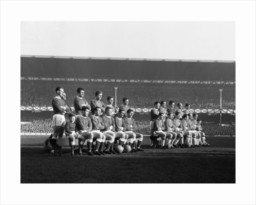 English League Division One match at Goodison Park by Eddie Chapman