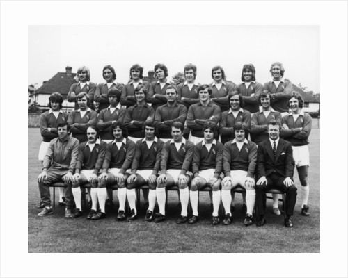 Everton squad pose for a group photograph by Anonymous
