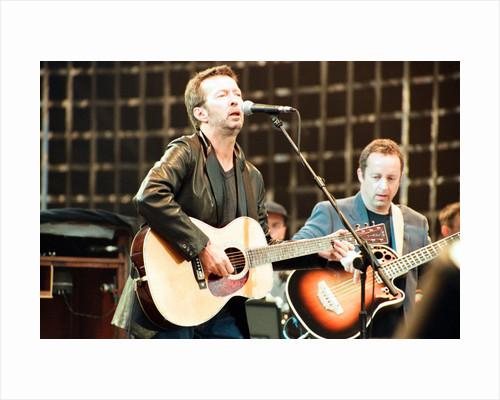 Eric Clapton 1996 by Jason Buckner