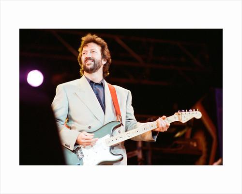 Eric Clapton 1988 by Brendan Monks