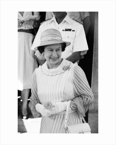 Prince Harry leaving hospital following birth 1984 by Kent Gavin
