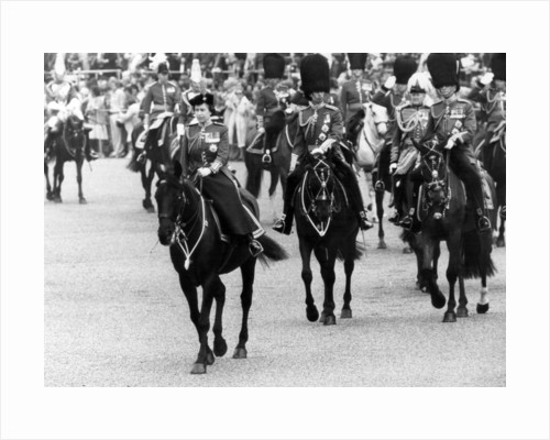 Trooping of the Colour ceremony 1980 by Sunday Mirror